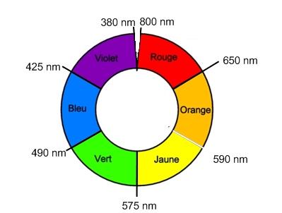 Une substance naturellement colorée :